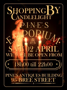 Pines Emp 02 April shopping by candlelight